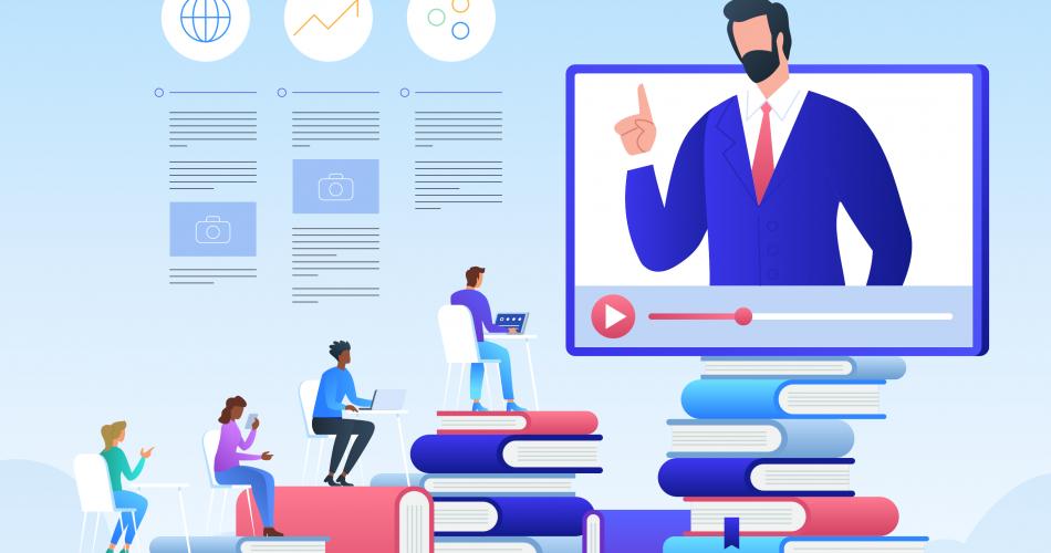 development of an online platform-course